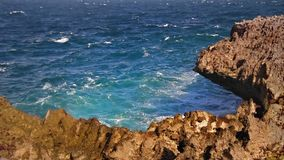 Sharp rocky cliff loop Stock Photography