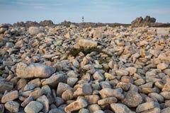 Sharp rocky coastline Stock Image