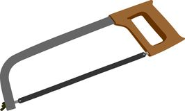 Sharp saw Stock Photography