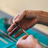 Sharp scalpel Royalty Free Stock Photos