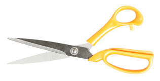 Sharp sewing scissors Royalty Free Stock Photos