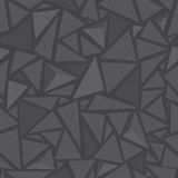Sharp shapes grey triangles Stock Images