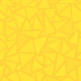 Sharp shapes yellow triangles Royalty Free Stock Image