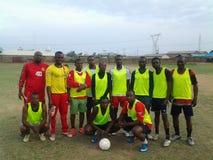 Sharp shooters football club zaria Royalty Free Stock Image