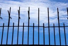 Sharp steel pole Stock Images