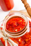 Sharp tomatoes paste Royalty Free Stock Photos