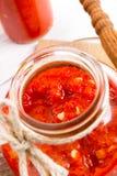 Sharp tomatoes paste Royalty Free Stock Photos