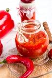Sharp tomatoes paste Stock Photo