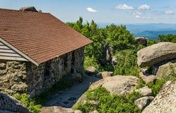 Sharp Top Mountain Shelter Stock Photos