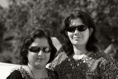 sharp två kvinnor Royaltyfri Fotografi