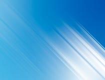 Sharp white light rays. On a blue background Stock Photos