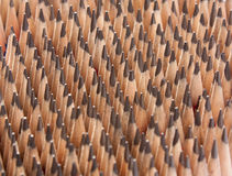 Sharp wooden pencils Royalty Free Stock Photo