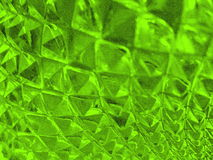 Sharped green glass Royalty Free Stock Images