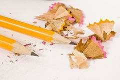 Sharpen pencils Royalty Free Stock Images