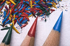 Sharpen the pencils Royalty Free Stock Images