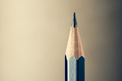 Sharpened pencil close-up view Stock Photos