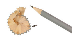 Sharpened pencil. Royalty Free Stock Photo