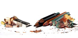 Sharpened pencils Stock Photo