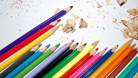 Sharpened pencils Stock Photography