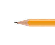 Sharpened Yellow pencil Stock Photography