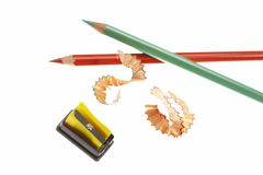 sharpener μολυβιών Στοκ φωτογραφίες με δικαίωμα ελεύθερης χρήσης