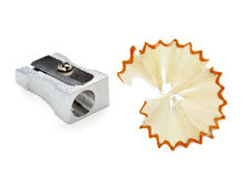 Sharpener cuttings Royalty Free Stock Image
