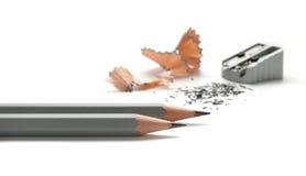 Sharpener de lápis Imagens de Stock