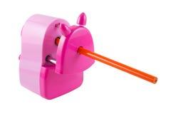 Sharpener de lápis isolado Fotografia de Stock