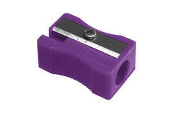 Sharpener purple Stock Photos