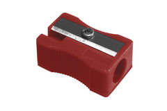 Sharpener red Royalty Free Stock Photography