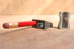 sharpeners μολυβιών Στοκ φωτογραφίες με δικαίωμα ελεύθερης χρήσης