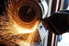 Sharpening Fotografia de Stock