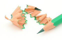 Sharpening colored pencils #4 Royalty Free Stock Image