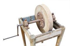 Sharpening machine tool Royalty Free Stock Image