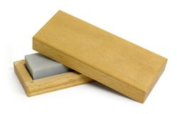 Sharpening stone Royalty Free Stock Photos