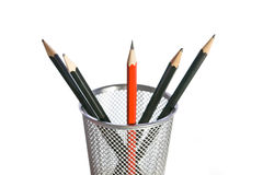 Sharpest Pencil in the Pot Royalty Free Stock Images