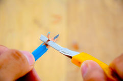 Sharppener de crayon pour dessiner dans l'école Image stock