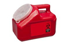 Sharps Container Royalty Free Stock Photography