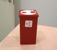 Sharps container Stock Image
