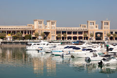 Sharq Marina in Kuwait City Royalty Free Stock Photos