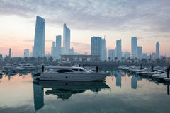Sharq Marina in Kuwait City Stock Photo