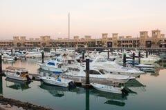 Sharq Marina w Kuwejt Obrazy Royalty Free