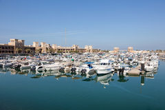 Sharq Marina w Kuwejt mieście Fotografia Royalty Free