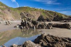 Sharrow Point Cornwall England Royalty Free Stock Photos