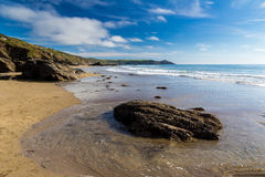 Sharrow Point Cornwall England Stock Images