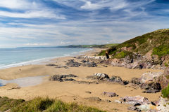 Sharrow Point Cornwall England Royalty Free Stock Images