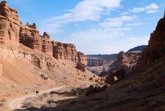 Sharyn Canyon panorama royaltyfri bild