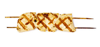 Shashlick shish kebab Stock Images