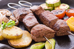 Shashlik Royalty Free Stock Image