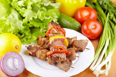 Shashlik Royalty Free Stock Photography